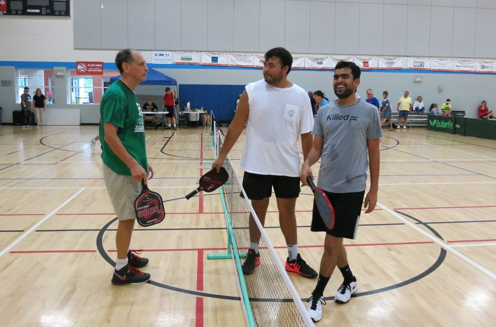 Getting Fit While Having Pickleball Fun